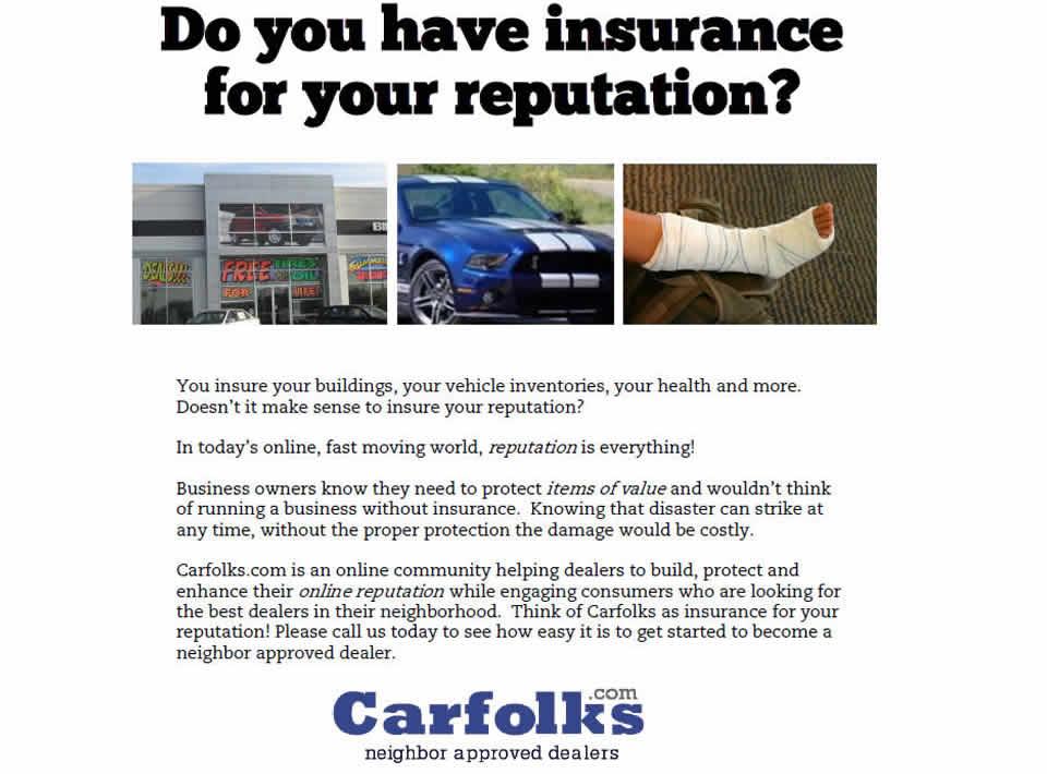 Carfolks Reputation