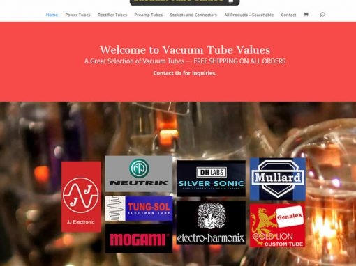 Vacuum Tube Values