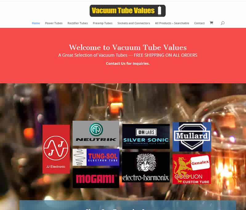 Vacuum Tube Values