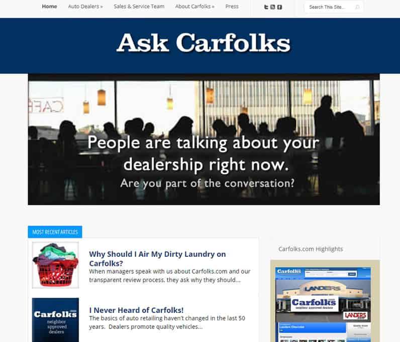 Ask Carfolks