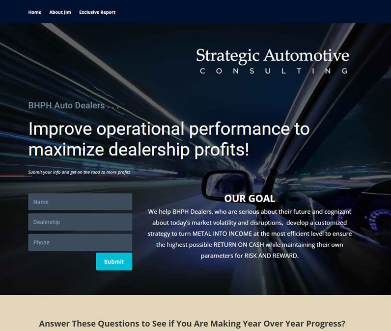 Strategic Automotive Consulting